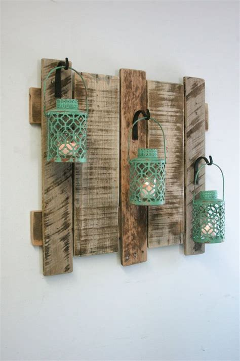 idea for wood metal mix decorations 25 best ideas about pallet home decor on pinterest