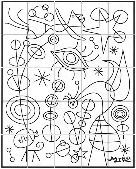 coloring book miro colouring 3791370391 pictures of miro colouring pages page 2