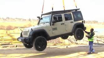 Best Jeep Roof Rack by Jeep Wrangler Roof Rack Stunt