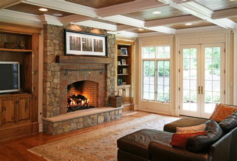 Decorating Above Cabinets In Kitchen Pictures Stone Veneer Fireplace Patio Contemporary With Covered