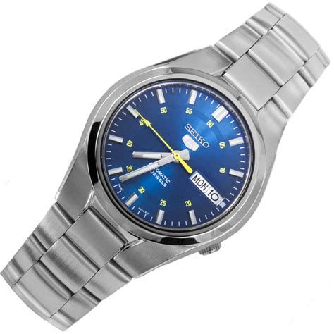 seiko 5 automatic blue mens snk615k1 snk615k snk615