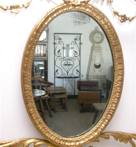 oval wall mirrors decorative decorative oval wall mirror for sale at 1stdibs