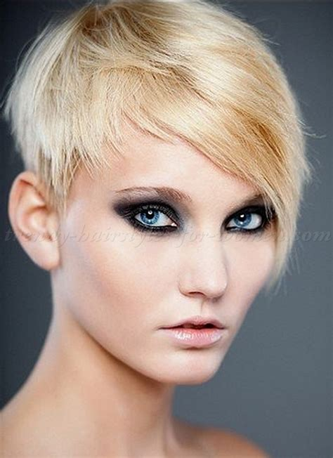 short pixie styles with longs fringes or bangs short hairstyles long fringe short pixie haircuts