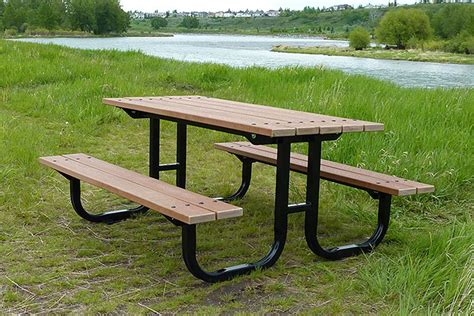 Park Tables by Series Br Picnic Tables Custom Park Leisure