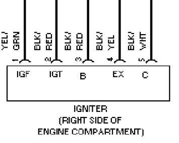 igniter wiring diagram toyota 2 toyota seat wiring
