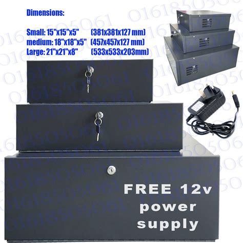 Box Cctv small cctv dvr lockable safe box heavy duty dvr