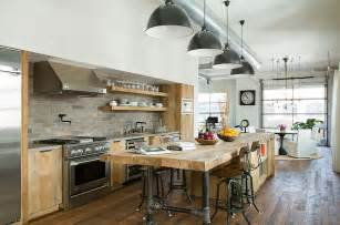 Industrial Kitchen Islands 50 Gorgeous Industrial Pendant Lighting Ideas