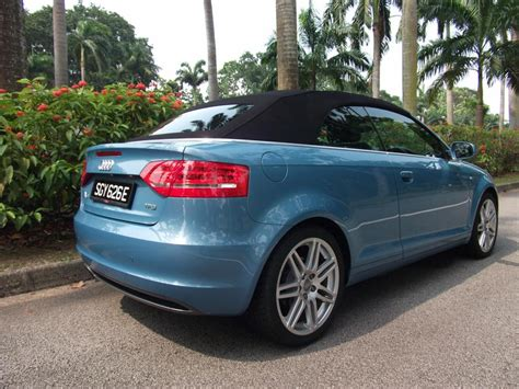 Gebrauchter Audi A3 by Used Audi A3 Cabriolet S Line For Sale In Singapore Rear