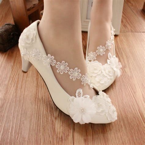 Low Bridesmaid Shoes by Low Heels Bridal Shoes Bridesmaid Shoes Bridal Lace