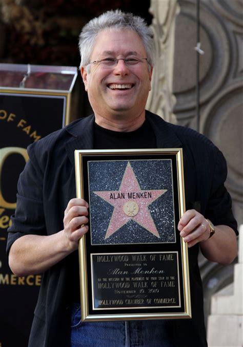 alan menken in alan menken honored on the walk