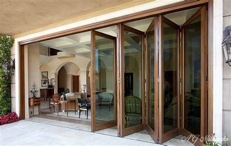 Glass Folding Doors Exterior Folding Doors Accordion Folding Doors For Patios