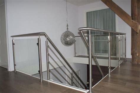 zoldertrap hek rechte trap met rvs traphek khof trappen