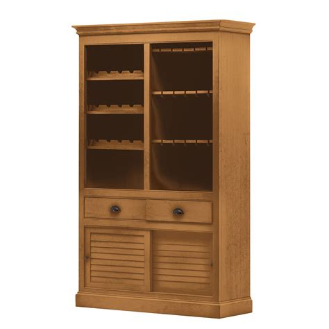 armoire a vin armoire 224 vin soller 246 n i pin massif pin couleur miel