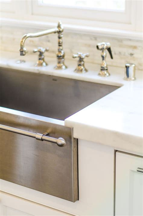 Stainless Steel Farm Sinks For Kitchens 25 Best Ideas About Apron Front Sink On Pinterest Apron Sink Farm Sink Kitchen And Apron
