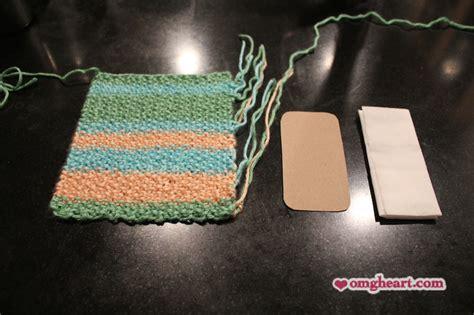knitting pattern tissue holder pattern knitted pocket tissue holder omg heart