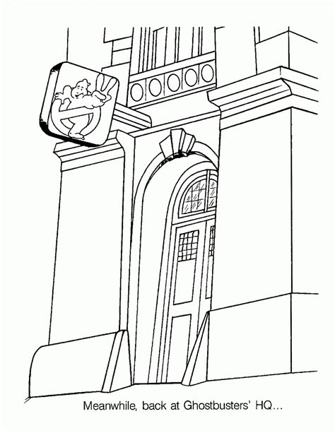 ghostbusters car coloring pages ghostbusters coloring page coloring home