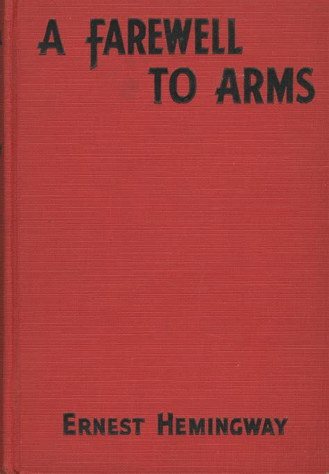 ernest hemingway a farewell to arms signed edition