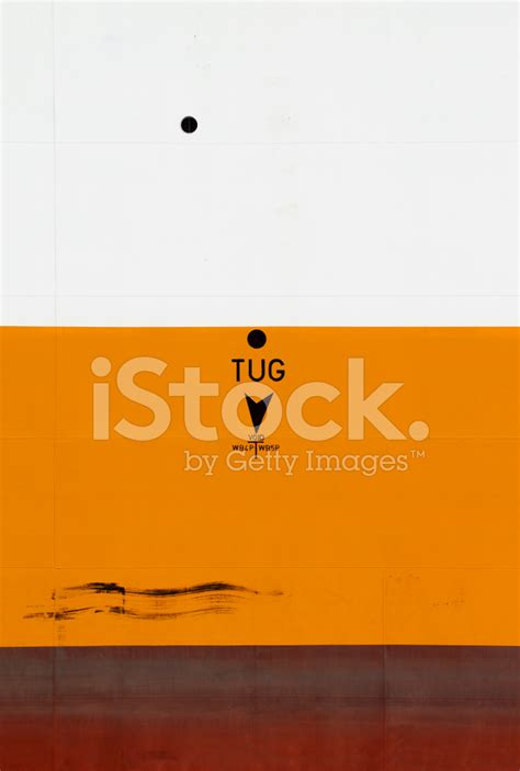 tugboat positions tug position mark on ship hull stock photos freeimages