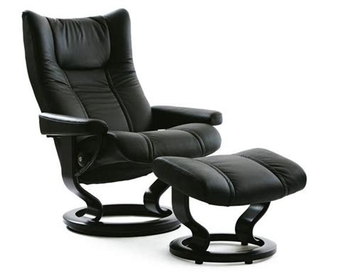 Ekornes Stressless Recliner by Stressless Wing Leather Recliner Chairs