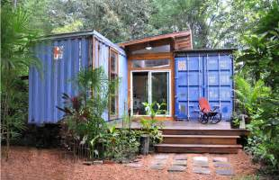 Shipping Container House by Shipping Container Homes