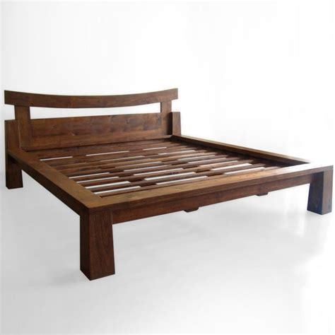 Japanese Platform Bed Frame Japanese Inspired Rooms Decobizz