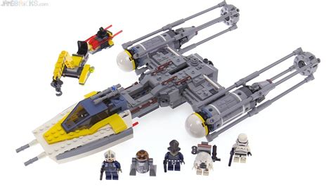 Lego Wings Jett 2 In 1 No Sw X001 Bigbox Brixboy lego wars y wing starfighter review 75172