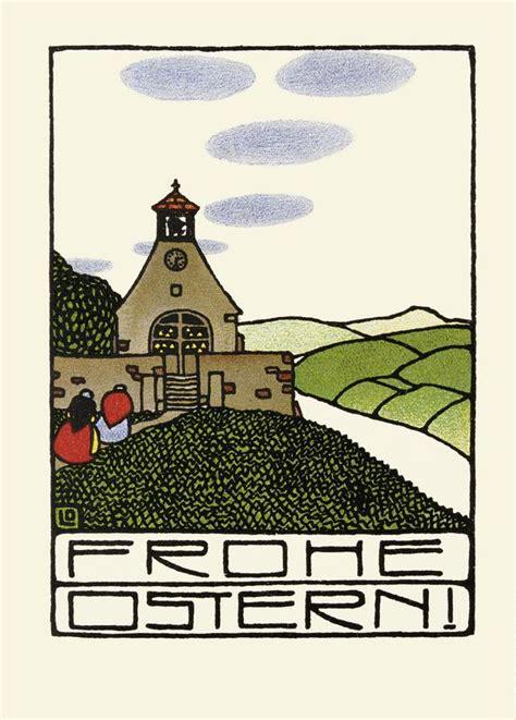 Postkarten Drucken Graz by Wiener Werkst 228 Tte Postkarte Ostern 1 L 246 Ffler Bertold