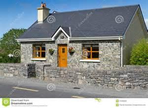 English Stone Cottage House Plans Irish Stone Cottage House Stock Photo Image 21069620