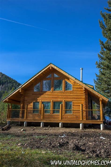 Utah Cabin Builders by Log Home Kits Utah Log Home Builders Prices Uinta Log