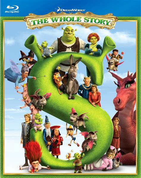 art the whole story shrek the whole story blu ray box set event and