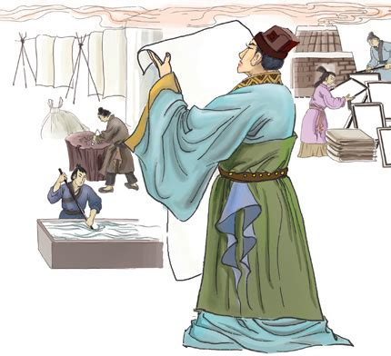 Cai Lun Paper Process - how different was ancient china einsty