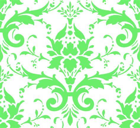 green pattern background png green damask clip art at clker com vector clip art