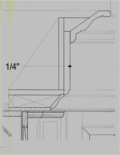 How To Add Crown Molding To Kitchen Cabinets built up crown molding configuration