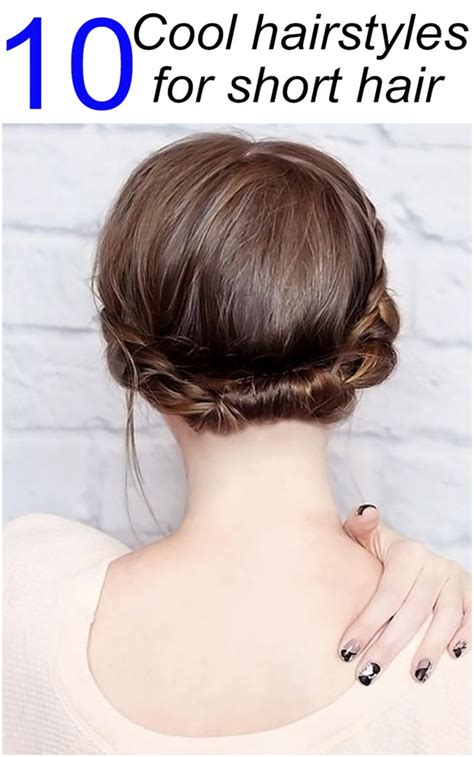 1001 hairstyles pictures haircut styles free makeover 10 cool hairstyles for short hair hair trends