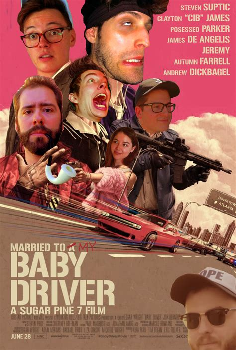 Baby Driver married to my baby driver poster stevensuptic