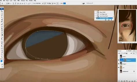 tutorial vektor foto 7 tutorial membuat vektor wajah dengan illustrator