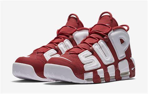 Harga Nike X Supreme Uptempo supreme nike air more uptempo suptempo sneakerfiles