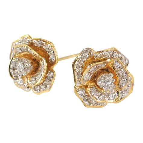Ohrringe Gold Hochzeit by Gold Wedding Earrings Ideal Weddings