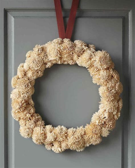 door wreath 31 days of wreaths martha stewart