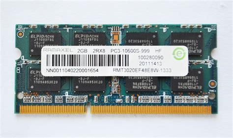 Ram Ramaxel 2gb memoria ram ramaxel 2gb rmt3020ef48e8w 1333 ddr3 pc3