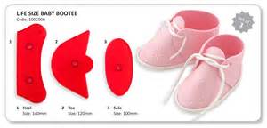 Fondant Booties Template by Best Photos Of Fondant Baby Booties Template Baby Bootie