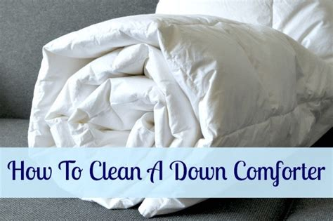 how do you clean a comforter how to clean a down comforter