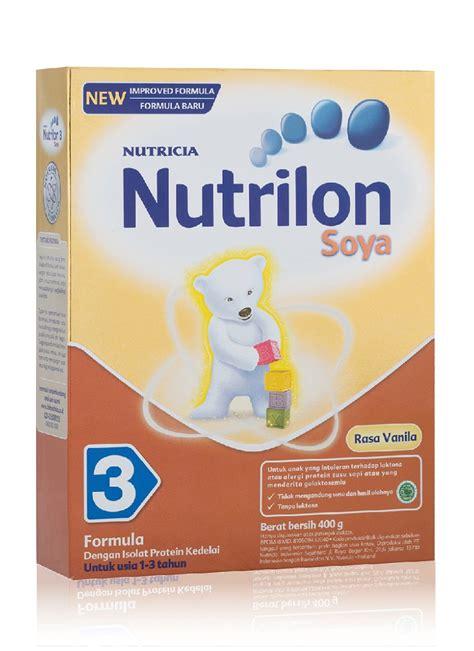 nutricia nutrilon soya 3 box 400g klikindomaret