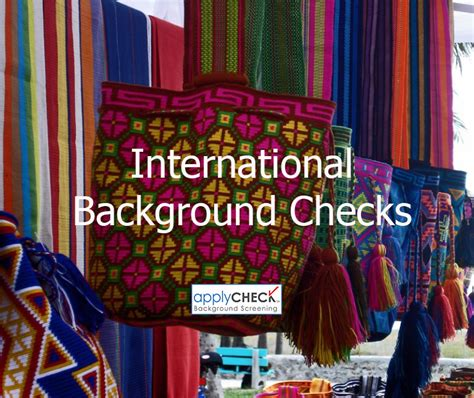 International Background Check International Background Checks Applycheck