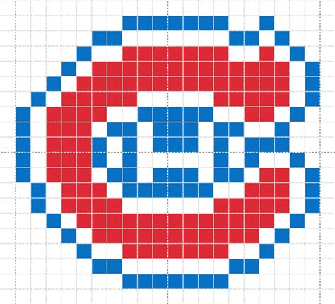 pattern paper montreal montreal canadian logo knitted afghan pattern for an adult