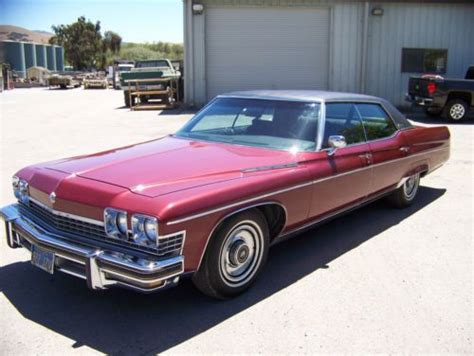 1974 buick limited buy used 1974 buick electra 225 limited hardtop 4 door 7
