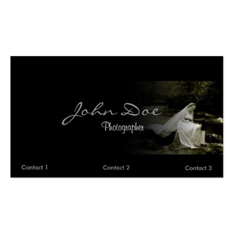 Wedding Photography Business by Wedding Photography Business Card Template Zazzle
