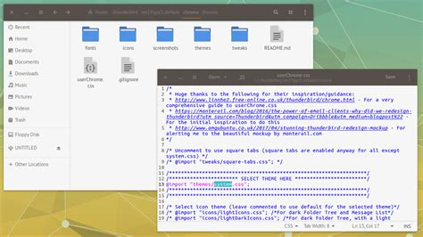 theme editor for chrome that slick thunderbird mockup it s now a real theme