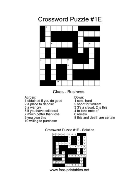 printable crossword puzzle easy easy printable crosswords free printable crossword puzzles