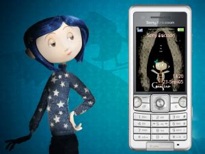themes in coraline book evil buttons coraline cell phone theme